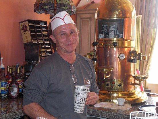 Alma, WI: Jeff, best ever barista