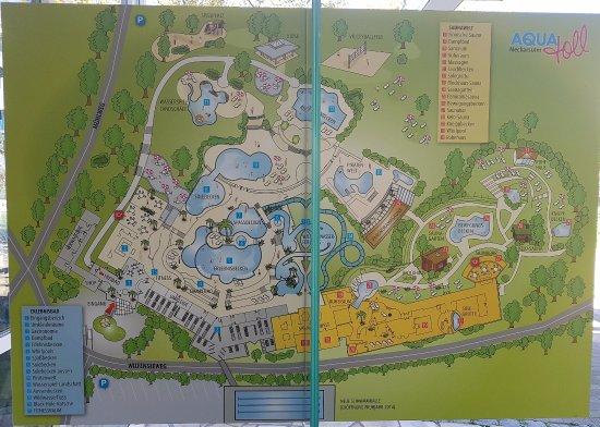 Neckarsulm, Germany: Das Aquatoll Gelände