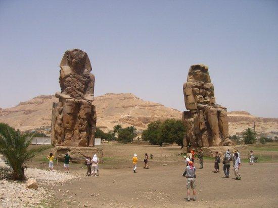 Egypt Tours Portal Day Trips: Колоссы Мемнона