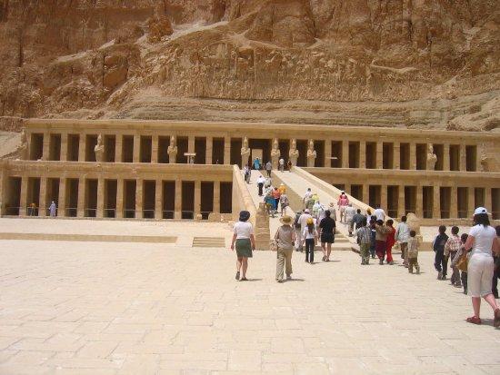 Egypt Tours Portal Day Trips: Храм Хатшепсут