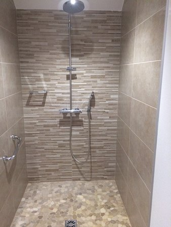 Hotel Reine Mathilde: Huge shower
