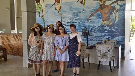 Ahangama, Sri Lanka: Happy guest from Shanghai at South Lake Resorts