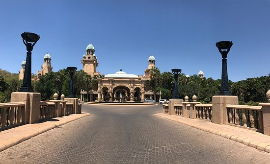 The Palace of the Lost City: Anniversary Day Trip to Sun City Palace Hotel. Sun City nestled in The North West Province of So