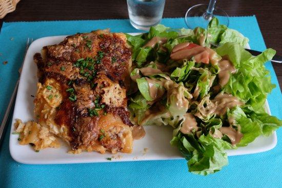 Aurillac, Francja: Hoofd Beef lasagne