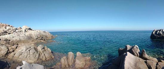 Asinara, Italia: Panorámica en una playa al final del recorrido