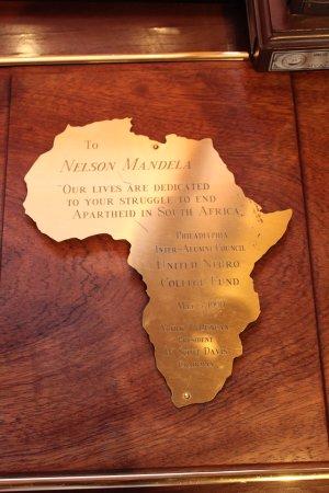 Greater Johannesburg, Sudáfrica: placas conmemorativas y premios internacionales