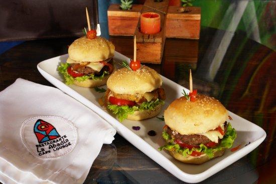 Restaurante La Abadía: Mini Hamburguesas