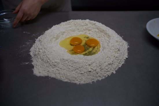 Pontinia, Italien: Eggs, flour and a lot of passion are the key ingredients