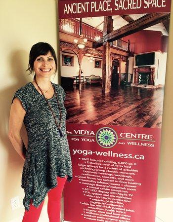 Thornton, Canadá: Owner at The Vidya Centre, Kim Vidya