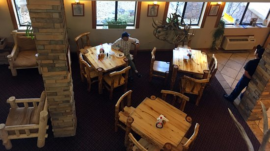 Gunnison, CO: Breakfast area