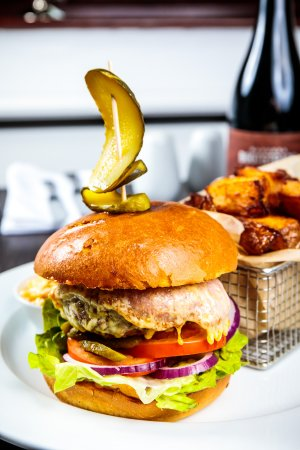 Darrington, UK: Kyte Burger