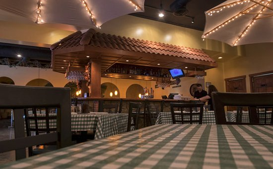 Jerlando's Ristorante & Pizza Co.: Makes you feel like you're outdoors in Italy.