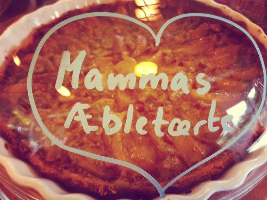 Tralee, Dinamarca: Hjemmelavet tosca-æbletærte