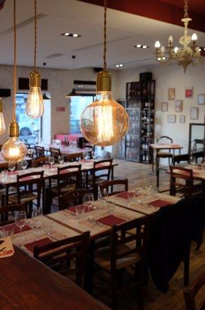 ristorante il quinto quarto in roma con cucina cucina