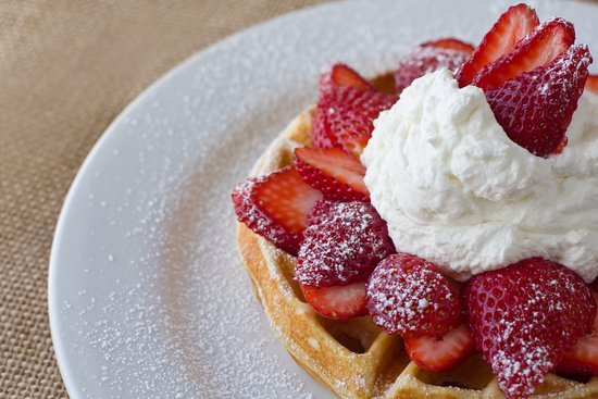 Denica's Real Food Kitchen: Bella's Belgian waffle