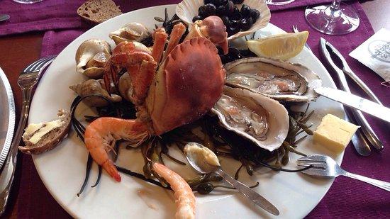 Le Cancalais : Avons été fort bien reçu Et délicieusement déjeuner. cuisine raffinée produits frais vraiment tr