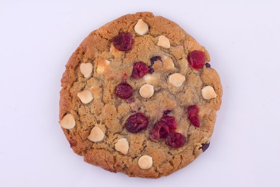 Dublin, CA: white chocolate cranberry cookie
