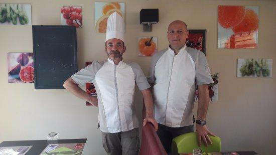 Saint-Vulbas, France : Seb & Dan