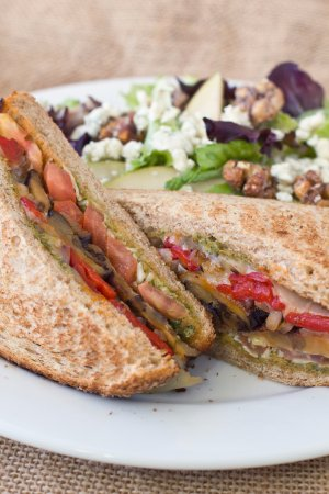Castro Valley, Kalifornia: grilled veg sandwich