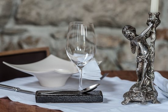 Buren an der Aare, Suisse : Il Grano Tisch