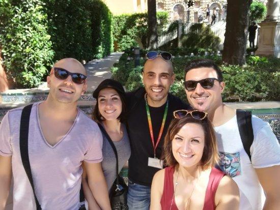 Ricardo Carmona Suarez- Tour guide Seville