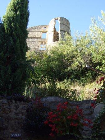 Vestiges du château de Montbrun-les-bains