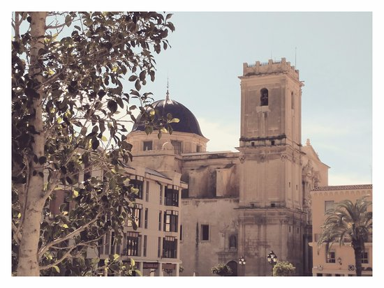 Novelda, Espagne : La Basílica de Santa María de Elche