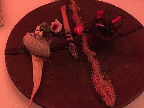 Dulce Patria en Las Alcobas: Lava Cake