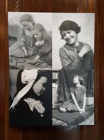 Broughton House & Garden: Photographs of local girls used in E A Hornel paintings