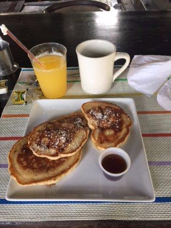 Bar-B-Barn: colazione - pancake alla banana