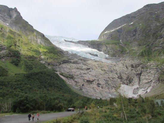 Fjaerland, Norway: Glaciar Boeyabreen