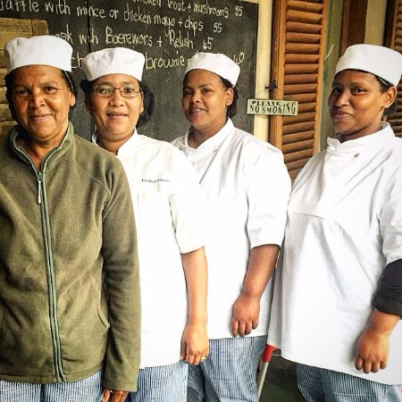 Wellington, South Africa: Our kitchen team