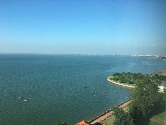 廣西壯族自治區北海市: 在房間看出去的照片