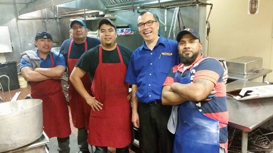 Jose's Authentic Mexican Restaurant: Back in the kitchen