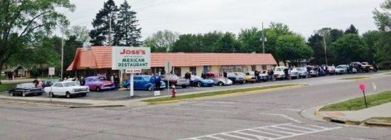 Jose's Authentic Mexican Restaurant: Car Club Event