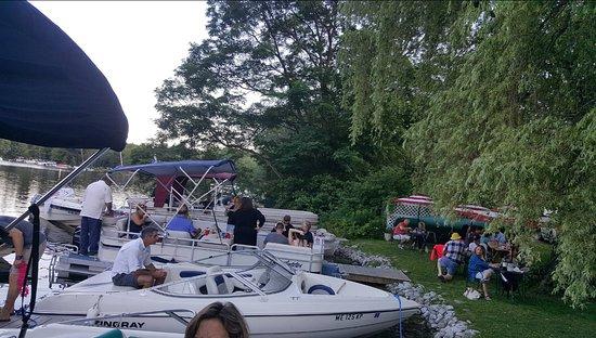 Belgrade, ME: Dock up your boat!