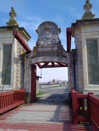 Entrance to Fortress Louisbourg thorugh the Dauphin Gate