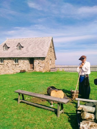 Interpreter at Fortress Louisbourg