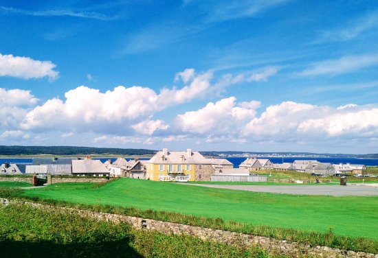 Louisbourg, Kanada: View from the Governor's residence