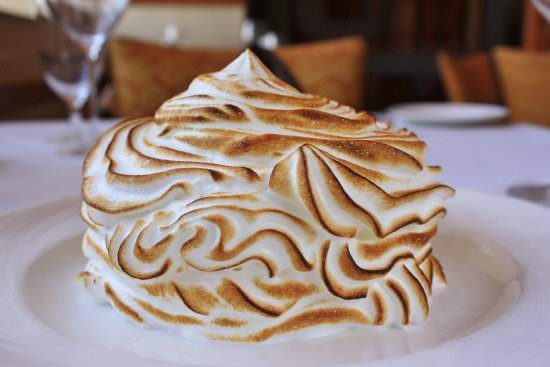 Eddie Merlot's Scottsdale: Baked Alaska