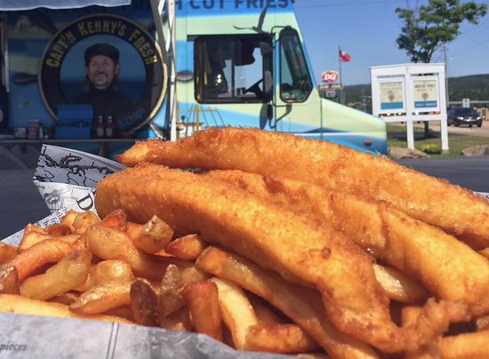 Port Hawkesbury, Canadá: Fish Fingers