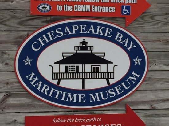 Chesapeake Bay Maritime Museum: Entrance to the museum