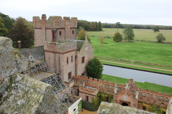 King's Lynn, UK: Oxburgh Hall from the roof