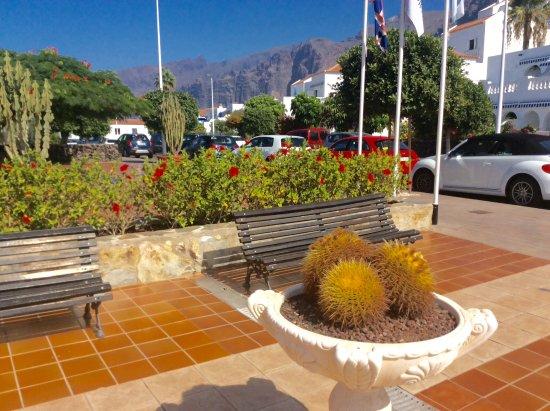 Santiago del Teide, Espanha: View from reception