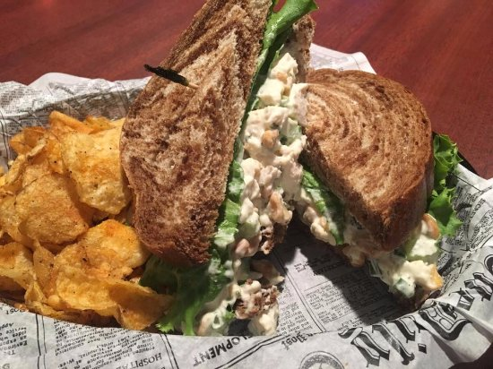 Escanaba, MI: Cashew Chicken Salad Sandwich