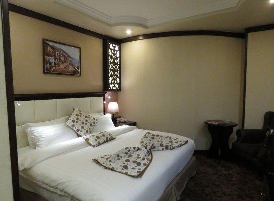 Rojina Hotel : mooie kamer maar zonder raam