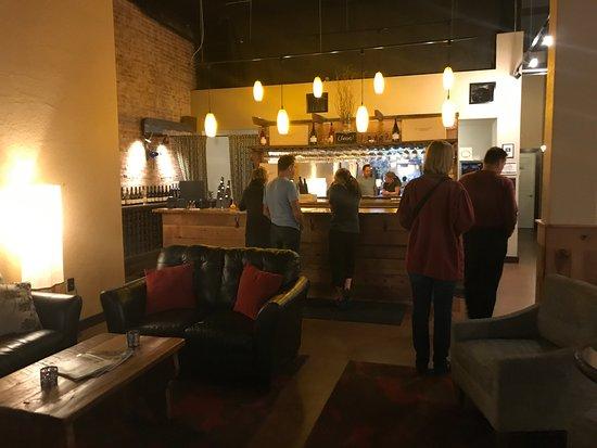 McMinnville, Oregón: Ordering flights at the bar