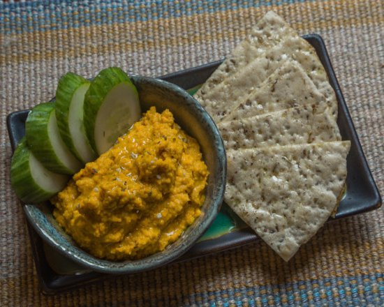 Black Mountain, NC: Organic Daily Hummus
