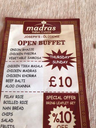 Madras Indian Restaurant Photo