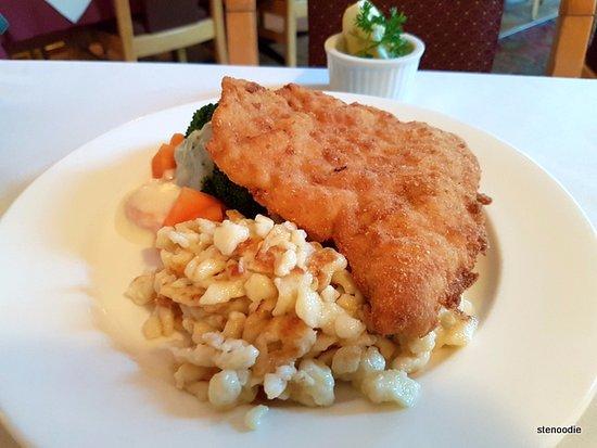 Markham, Canada: Tiroler Schnitzel